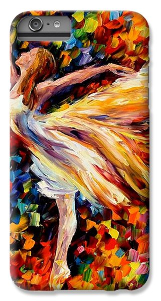 Afremov iPhone 6 Plus Case - The Beauty Of Dance by Leonid Afremov