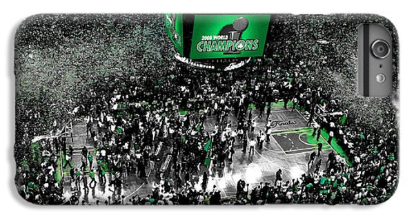 The Boston Celtics 2008 Nba Finals IPhone 6 Plus Case by Brian Reaves