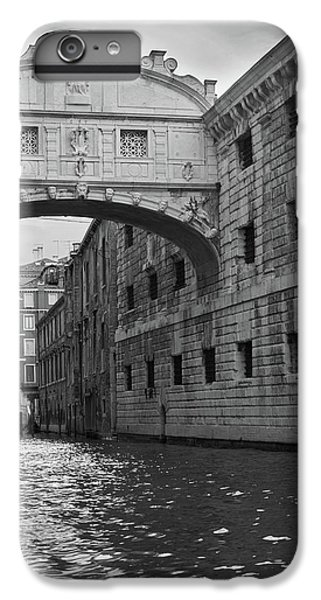 IPhone 6 Plus Case featuring the photograph The Bridge Of Sighs, Venice, Italy by Richard Goodrich