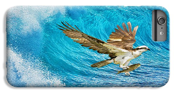Osprey iPhone 6 Plus Case - The Catch by Laura D Young