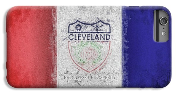 IPhone 6 Plus Case featuring the digital art The Cleveland City Flag by JC Findley
