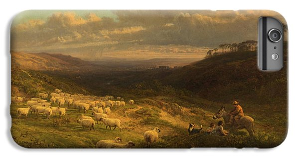 The Closing Day, Scene In Sussex IPhone 6 Plus Case by George Vicat Cole