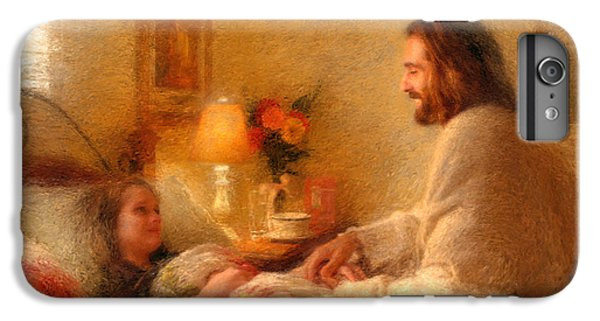 Christ iPhone 6 Plus Case - The Comforter by Greg Olsen