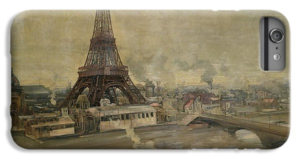 The Construction Of The Eiffel Tower IPhone 6 Plus Case by Paul Louis Delance