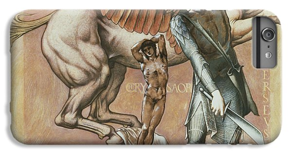 Pegasus iPhone 6 Plus Case - The Death Of Medusa I by Edward Coley Burne-Jones