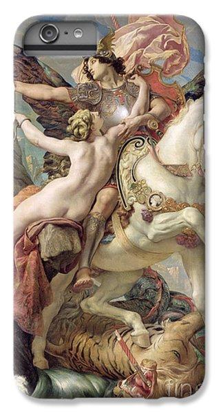 Pegasus iPhone 6 Plus Case - The Deliverance by Joseph Paul Blanc