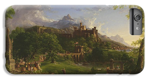 The Departure IPhone 6 Plus Case by Thomas Cole