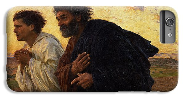 The Disciples Peter And John Running To The Sepulchre On The Morning Of The Resurrection IPhone 6 Plus Case