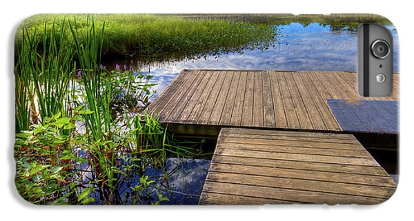 The Dock At Mountainman IPhone 6 Plus Case by David Patterson