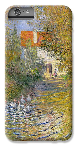 The Duck Pond IPhone 6 Plus Case by Claude Monet