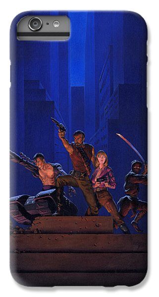 Aliens iPhone 6 Plus Case - The Eliminators by Richard Hescox