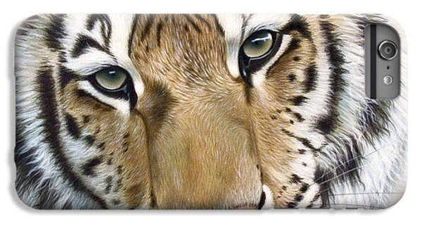 Tiger iPhone 6 Plus Case - The Embrace by Sandi Baker