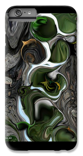 IPhone 6 Plus Case featuring the digital art The Evolving Dimensionality by Carmen Fine Art