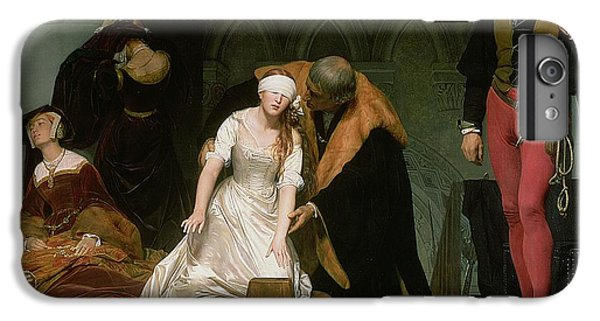 The Execution Of Lady Jane Grey IPhone 6 Plus Case by Hippolyte Delaroche