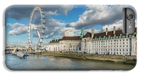 The Eye London IPhone 6 Plus Case by Adrian Evans
