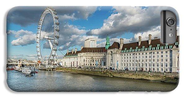 London Eye iPhone 6 Plus Case - The Eye London by Adrian Evans