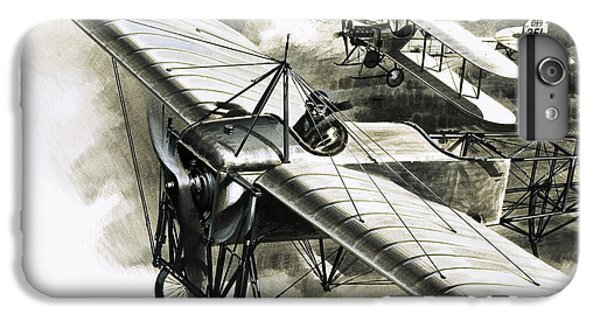 The First Reconnaissance Flight By The Rfc IPhone 6 Plus Case by Wilf Hardy