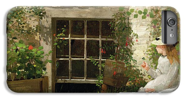 Garden Snake iPhone 6 Plus Case - The Four Leaf Clover by Winslow Homer