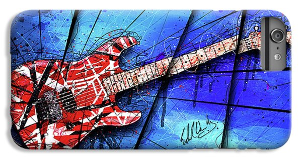 The Frankenstrat On Blue I IPhone 6 Plus Case