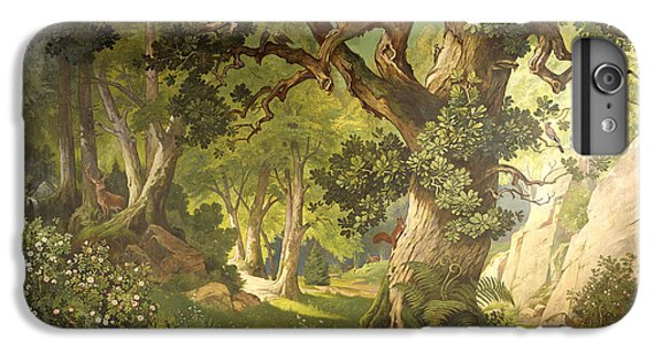 The Garden Of The Magician Klingsor, From The Parzival Cycle, Great Music Room IPhone 6 Plus Case