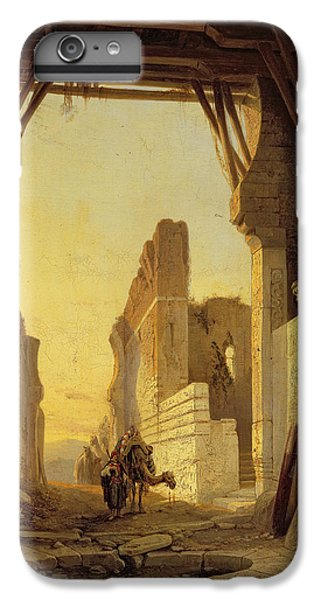 The Gates Of El Geber In Morocco IPhone 6 Plus Case by Francois Antoine Bossuet