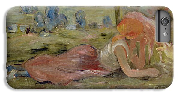 The Goatherd IPhone 6 Plus Case by Berthe Morisot
