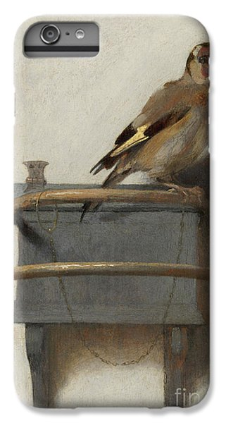 The Goldfinch, 1654  IPhone 6 Plus Case by Carel Fabritius