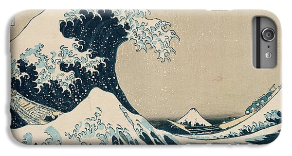 The Great Wave Of Kanagawa IPhone 6 Plus Case by Hokusai