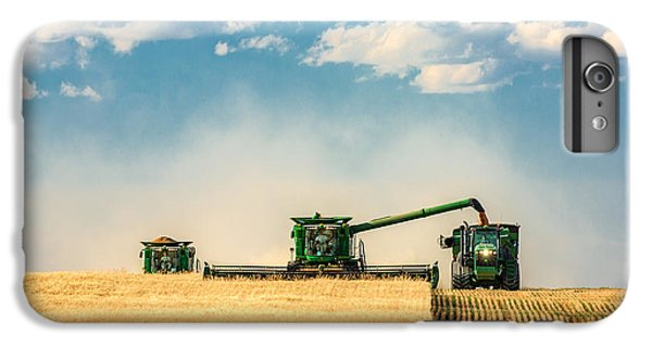Rural Scenes iPhone 6 Plus Case - The Green Machines by Todd Klassy