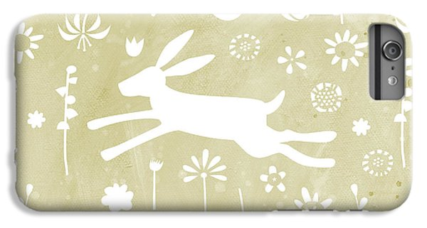 The Hare In The Meadow IPhone 6 Plus Case