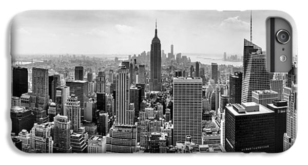 New York City Skyline Bw IPhone 6 Plus Case by Az Jackson