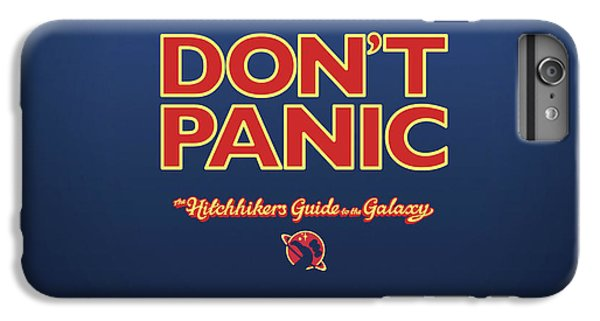 Design iPhone 6 Plus Case - The Hitchhiker's Guide To The Galaxy by Super Lovely