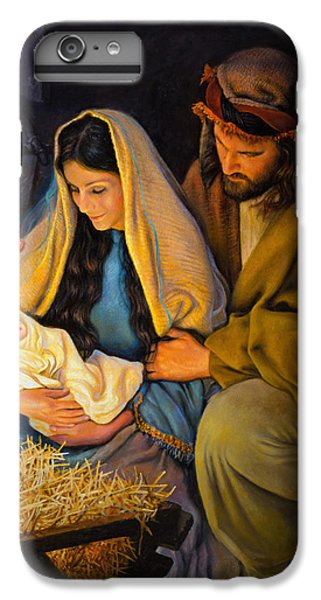 Christ iPhone 6 Plus Case - The Holy Family by Greg Olsen