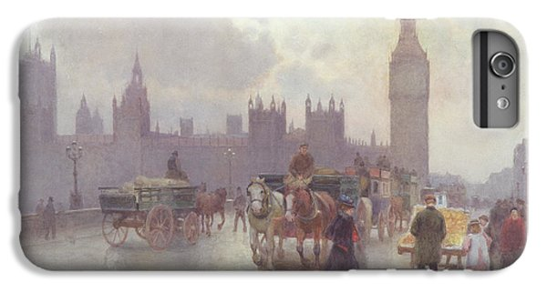 The Houses Of Parliament From Westminster Bridge IPhone 6 Plus Case by Alberto Pisa