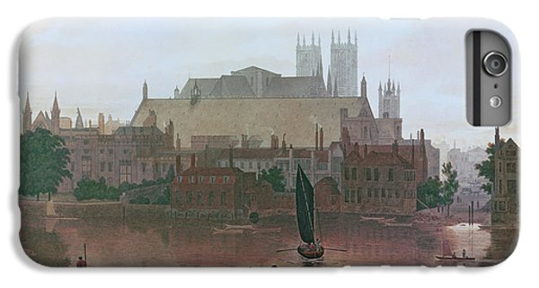 The Houses Of Parliament IPhone 6 Plus Case by George Fennel Robson