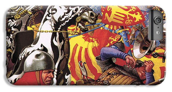 The Hundred Years War  The Struggle For A Crown IPhone 6 Plus Case by Pat Nicolle