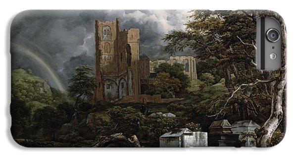 Barren iPhone 6 Plus Case - The Jewish Cemetery by Jacob Isaaksz Ruisdael