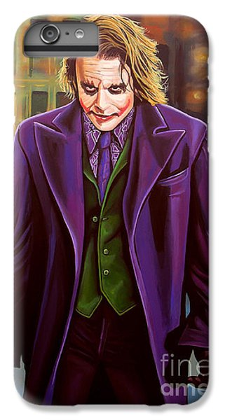 The Joker In Batman  IPhone 6 Plus Case by Paul Meijering