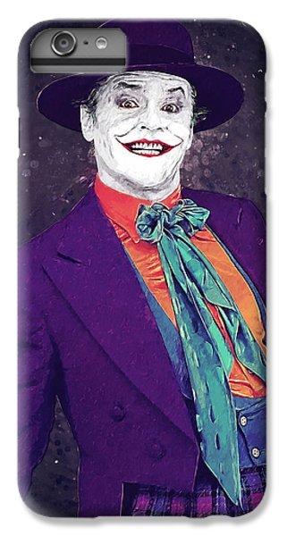Jack Nicholson iPhone 6 Plus Case - The Joker by Zapista