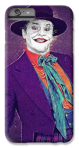 The Joker IPhone 6 Plus Case by Taylan Apukovska