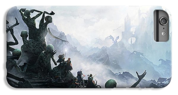 Knight iPhone 6 Plus Case - The Journey by Guillem H Pongiluppi