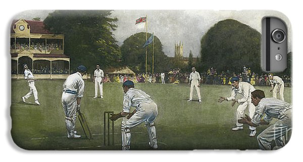Cricket iPhone 6 Plus Case - The Kent Eleven Champions, 1906 by Albert Chevallier Tayler