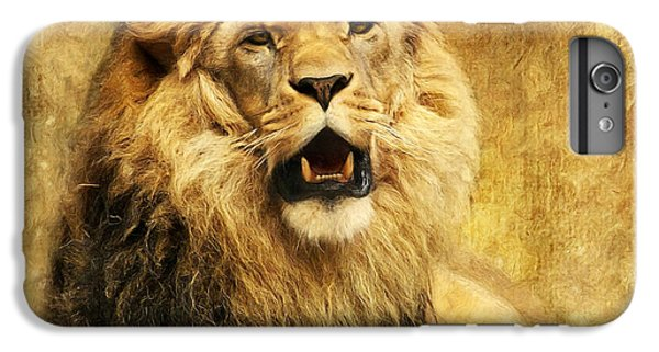 Lion iPhone 6 Plus Case - The King by Angela Doelling AD DESIGN Photo and PhotoArt