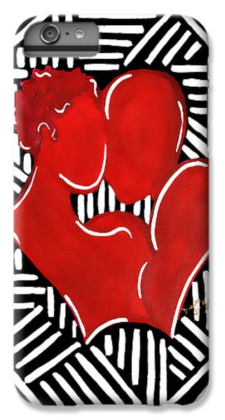 The Kiss IPhone 6 Plus Case by Diamin Nicole