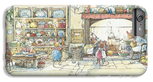 Mouse iPhone 6 Plus Case - The Kitchen At Crabapple Cottage by Brambly Hedge