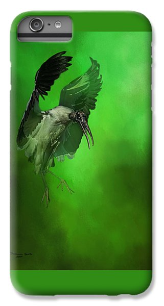 Stork iPhone 6 Plus Case - The Landing by Marvin Spates