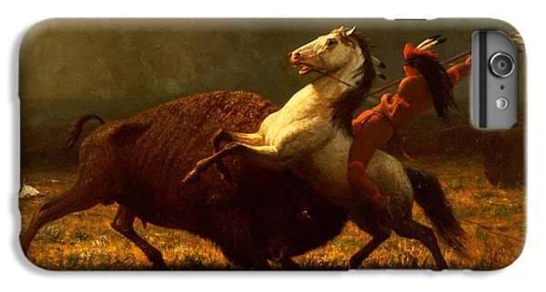 The Last Of The Buffalo IPhone 6 Plus Case by Albert Bierstadt