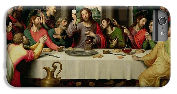 Wine iPhone 6 Plus Case - The Last Supper by Vicente Juan Macip