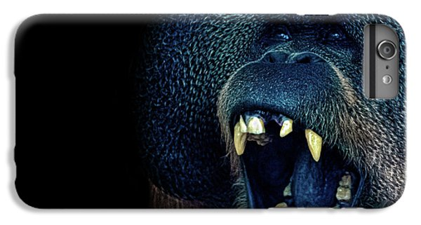 The Laughing Orangutan IPhone 6 Plus Case by Martin Newman