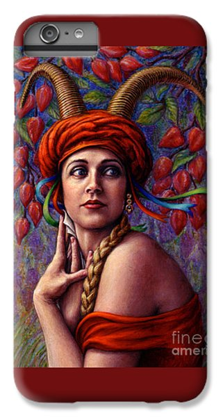 The Letter IPhone 6 Plus Case by Jane Bucci